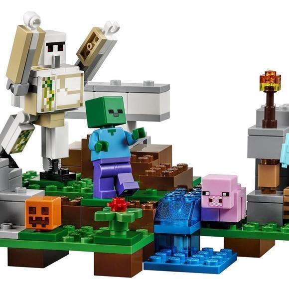 LEGO MINECRAFT The Iron Golem # 21123 208 Pieces New Sealed Free Shipping